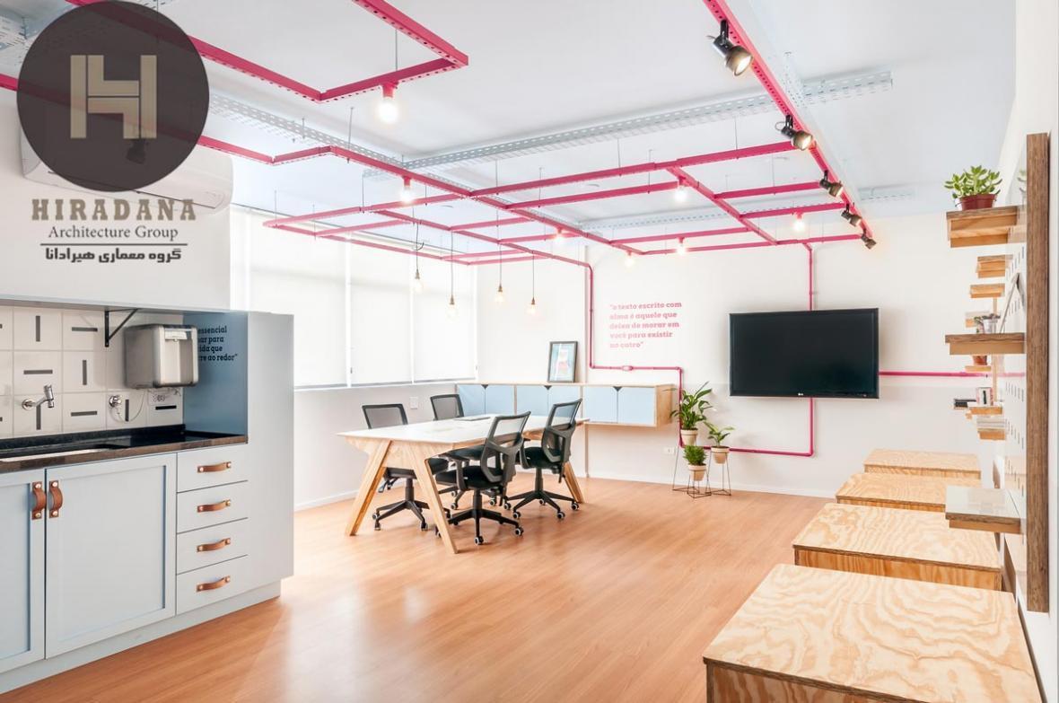 طراحی داخلی دفتر شخصی یک نویسنده در برزیل
