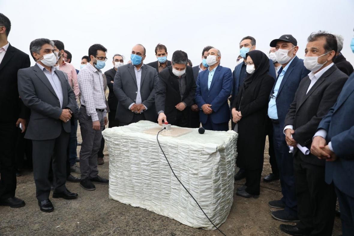 خبرنگاران عملیات اجرایی رودپارک در مشهد شروع شد