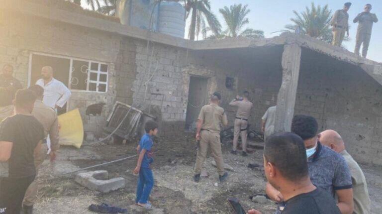الحشدالشعبی: جنایت الرضوانیه کار سفارت آمریکا در بغداد بود، عکس
