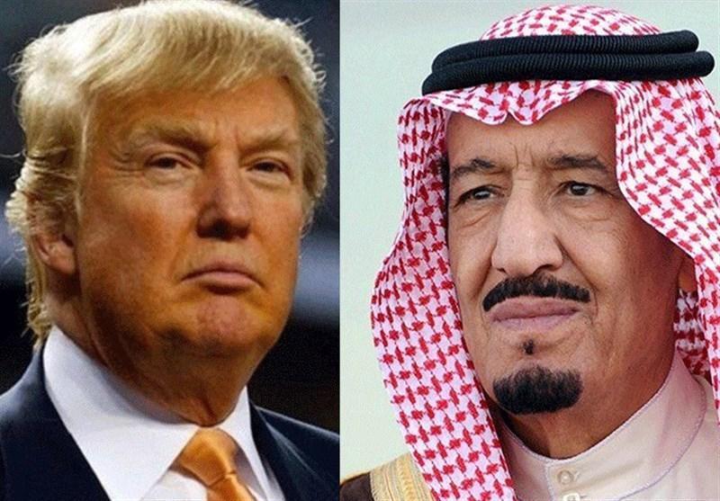 گفت وگوی تلفنی ترامپ و ملک سلمان درباره بحران قطر