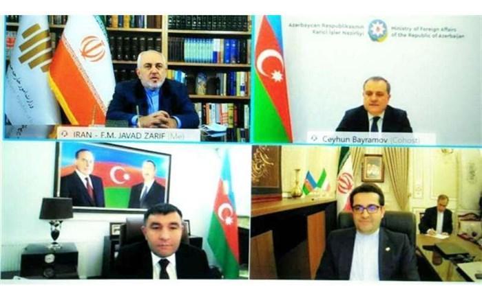 تهران و باکو بر توسعه روابط دو جانبه تاکید کردند