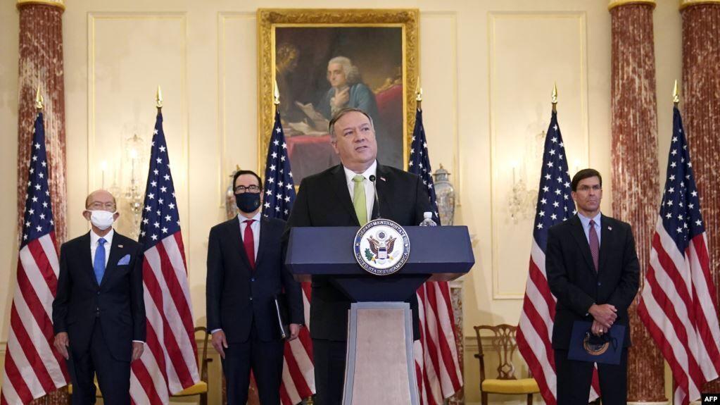 خبرنگاران تحریم هایی جدید آمریکا علیه مقامات چین