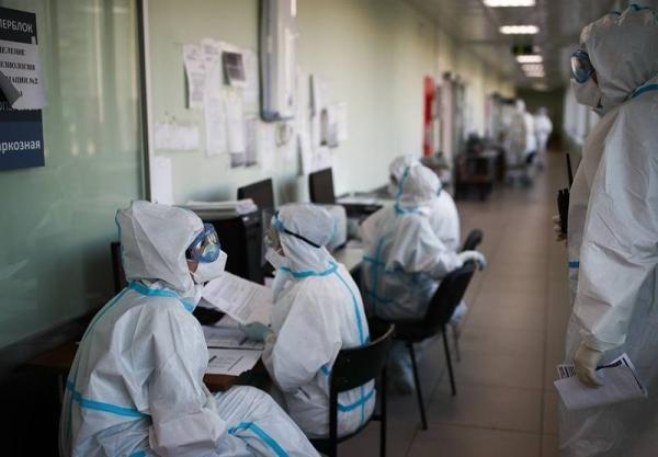 ادامه فرایند رو به کاهش موارد ابتلا به کرونا در روسیه