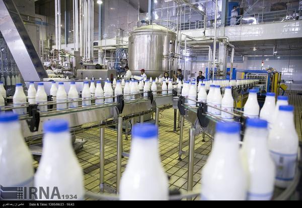 خبرنگاران چهار هزار و 800 تن شیر در بروجرد فراوری می گردد
