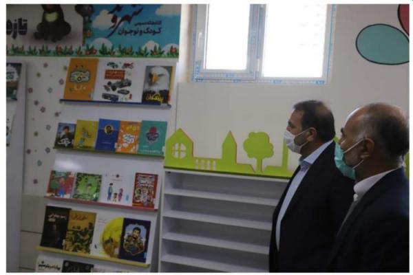 کتابخانه ویژه کودک و نوجوان شهروند در فسا به بهره برداری رسید