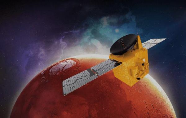 فضاپیمای امید امارات با موفقیت به مدار مریخ دست یافت
