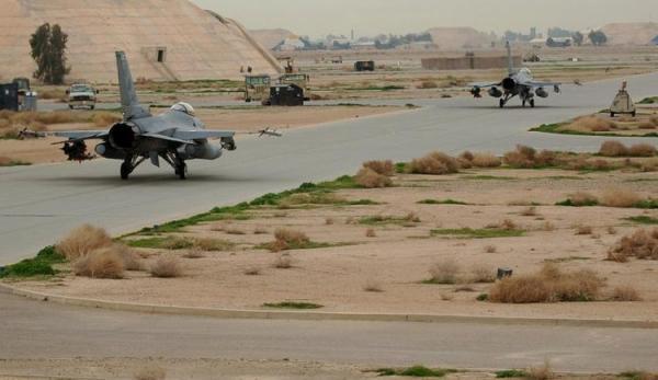 اصابت 3 راکت به پایگاه هوایی بلد در صلاح الدین عراق