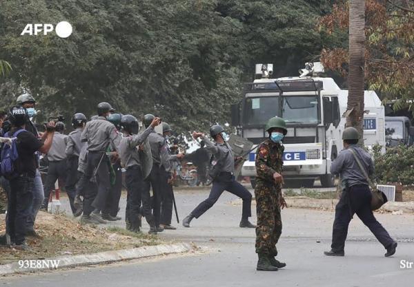 شروع عملیات گسترده سرکوب در میانمار پس از درخواست یاری در سازمان ملل