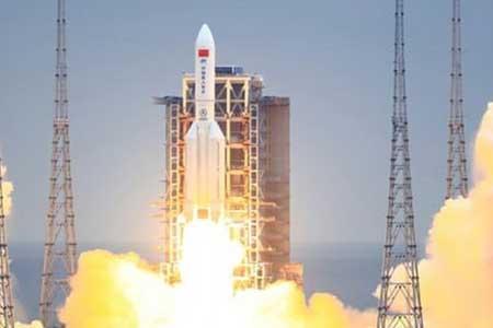 نخستین تصویر از موشک سرگردان چینی (