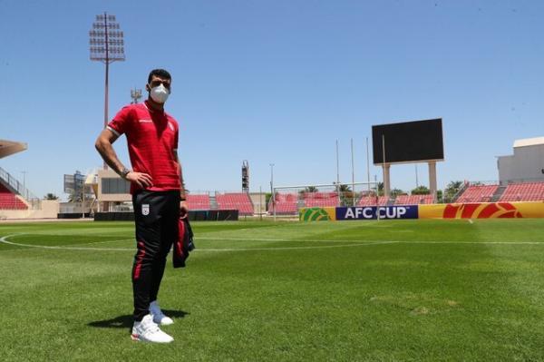 طارمی: زمین چمن در حد انتخابی جام جهانی نیست
