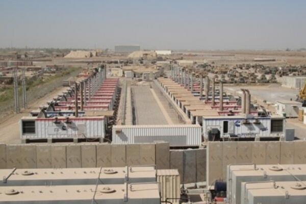 وقوع سه انفجار در پایگاه ویکتوری آمریکا نزدیک فرودگاه بغداد